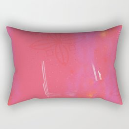 Song of the Dove Rectangular Pillow