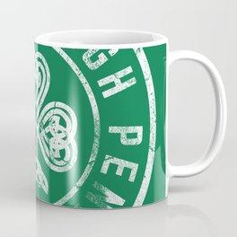 Pittsburgh Irish Shamrock St Patricks Day 412 Steel City Vintage Coffee Mug