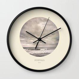 love the sea.... Wall Clock