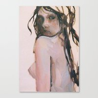 fear Canvas Prints featuring Fear by scott french studio