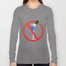 Drink and drive Long Sleeve T-shirt