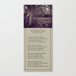 A Poison Tree Canvas Print