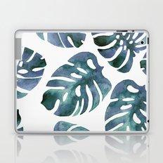 Monstera Blue Laptop & iPad Skin