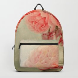 Rose Cockatoo and Peony Backpack