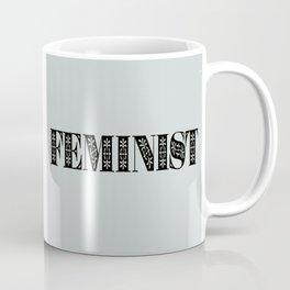 Feminist Typography Coffee Mug