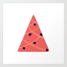 Coral triangle tree Art Print