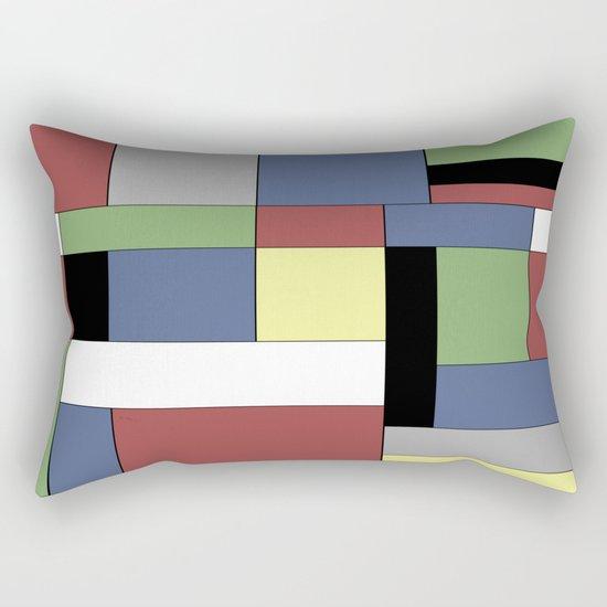 Mondrian #5 Rectangular Pillow