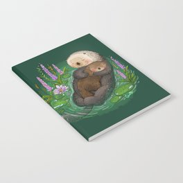 Sea Otter Mother & Baby Notebook
