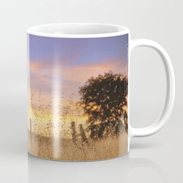 Evening Glow a country sunset Coffee Mug