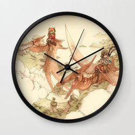 At the End of the World Wall Clock