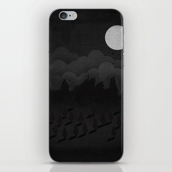 A night in the woods iPhone & iPod Skin