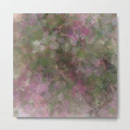 Rosen garden batic look Metal Print