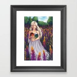 Dragon Eggs Framed Art Print