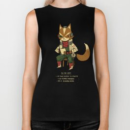 fox to-do-list Biker Tank