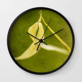 spike on green Wall Clock
