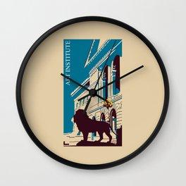 Art Institute Chicago Wall Clock