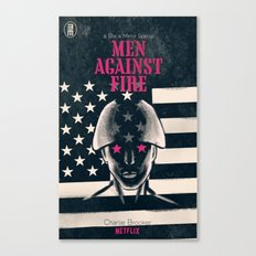 Men Against Fire Canvas Print