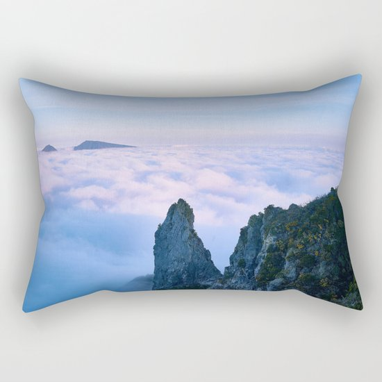 Nature's Cotton Candy Rectangular Pillow