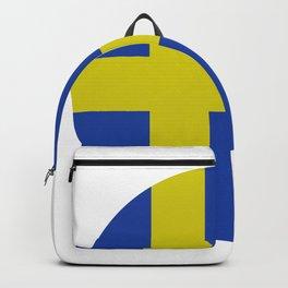 sweden flag Backpack