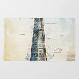 The Shard, London England Rug