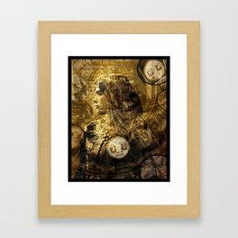 DICE GAME Framed Art Print