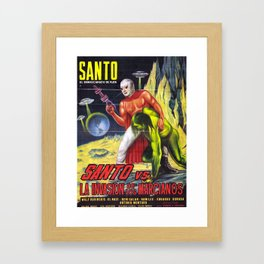 La Invasion Framed Art Print