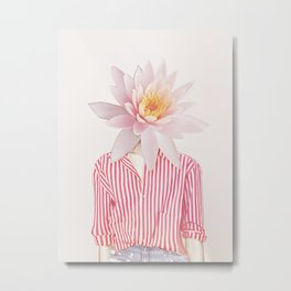 Blooming Mind Metal Print