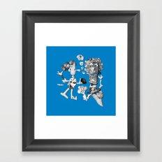shell people Framed Art Print