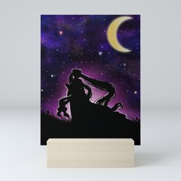 Moonlight Guardian Mini Art Print