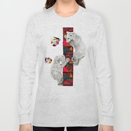 The Innocent Wilderness by Peter Striffolino and Kris Tate Long Sleeve T-shirt