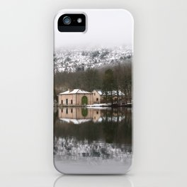 House on the lake iPhone Case