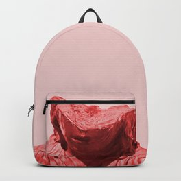 Shy red girl Backpack