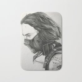 The Winter Soldier (sketch) Bath Mat