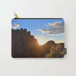 End of The Day at Smith Rock Carry-All Pouch