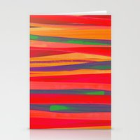 the strokes Stationery Cards featuring Strokes by Rebecca Allen