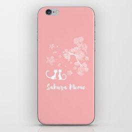 Sakura Cats iPhone Skin