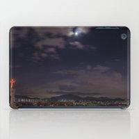 seoul iPad Cases featuring Seoul Moonlight by Clayton Jones
