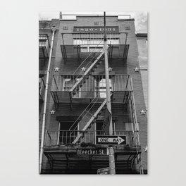 Bleecker Street II Canvas Print