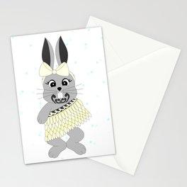 Miss Rapeti (lemon) Stationery Cards