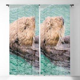 Belly Rub Digital Art Blackout Curtain
