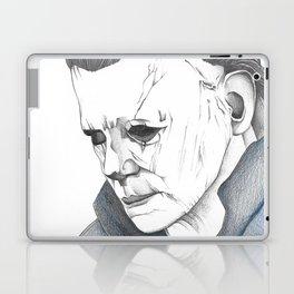 Happy Halloween, Michael Myers Portrait Laptop & iPad Skin