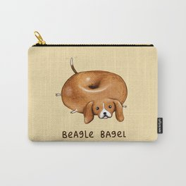 Beagle Bagel Carry-All Pouch