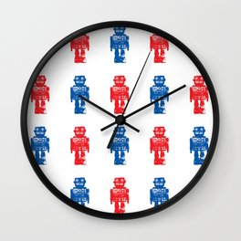 Robot Montage Wall Clock