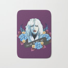 Courtney Love is the girl with the cake Bath Mat