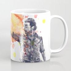 Portrait of Rick Grimes from The Walking Dead Mug