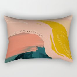"""Wholeheartedness"" Rectangular Pillow"