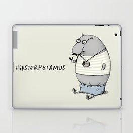 Hipsterpotamus Laptop & iPad Skin