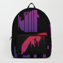 Psytrance headphones Backpack