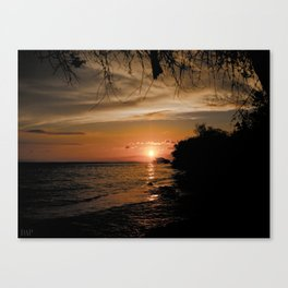 Gili Trawangan Sunset Canvas Print