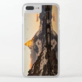 Swiss Alps Journey Clear iPhone Case